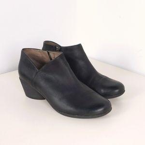 Dansko Raina Cutout Comfort Leather Booties, 40